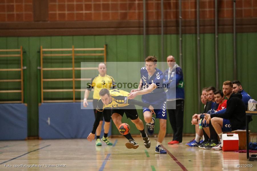 Daniel Mader, Erwin-Ammann-Halle, Bezirksliga Staffel Nord, 16.11.2019, TV Königsberg, TSV Karlstadt - Bild-ID: 2270150