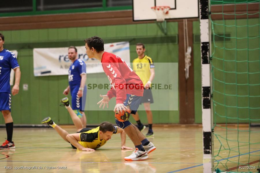 Tilmann Schmid, Erwin-Ammann-Halle, Bezirksliga Staffel Nord, 16.11.2019, TV Königsberg, TSV Karlstadt - Bild-ID: 2270226