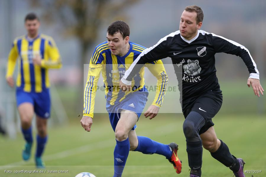 Carsten Albrecht, Manuel Rumpel, 17.11.2019, Bezirksliga Ufr. West, DJK Hain, TSV Retzbach - Bild-ID: 2270239