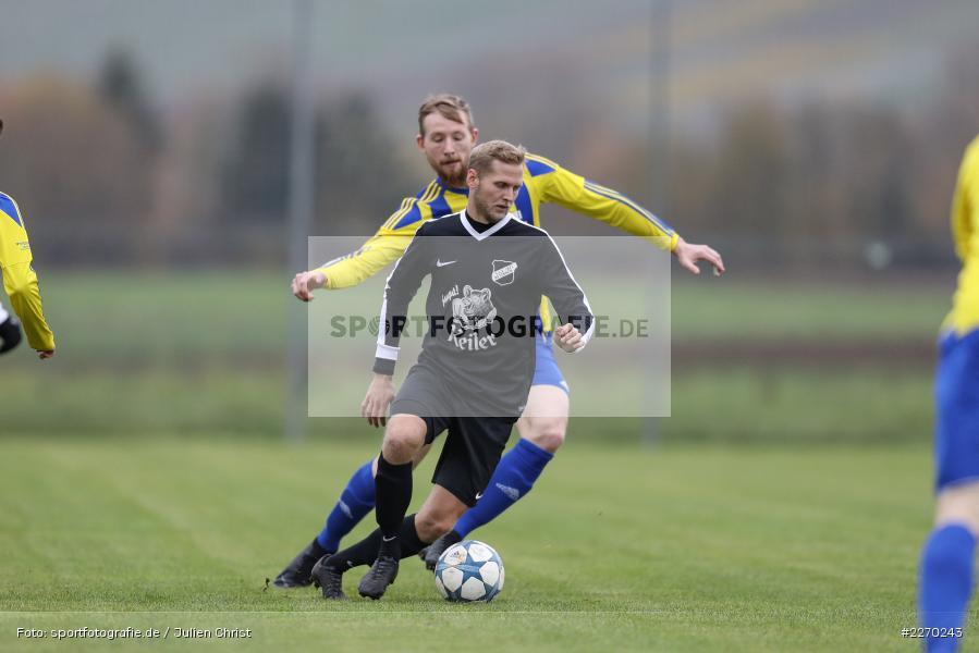 Felix Strohmenger, Max Hofestädt, 17.11.2019, Bezirksliga Ufr. West, DJK Hain, TSV Retzbach - Bild-ID: 2270243