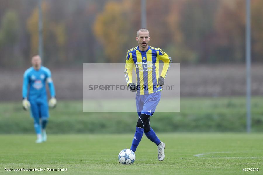 Matthias Fries, 17.11.2019, Bezirksliga Ufr. West, DJK Hain, TSV Retzbach - Bild-ID: 2270245