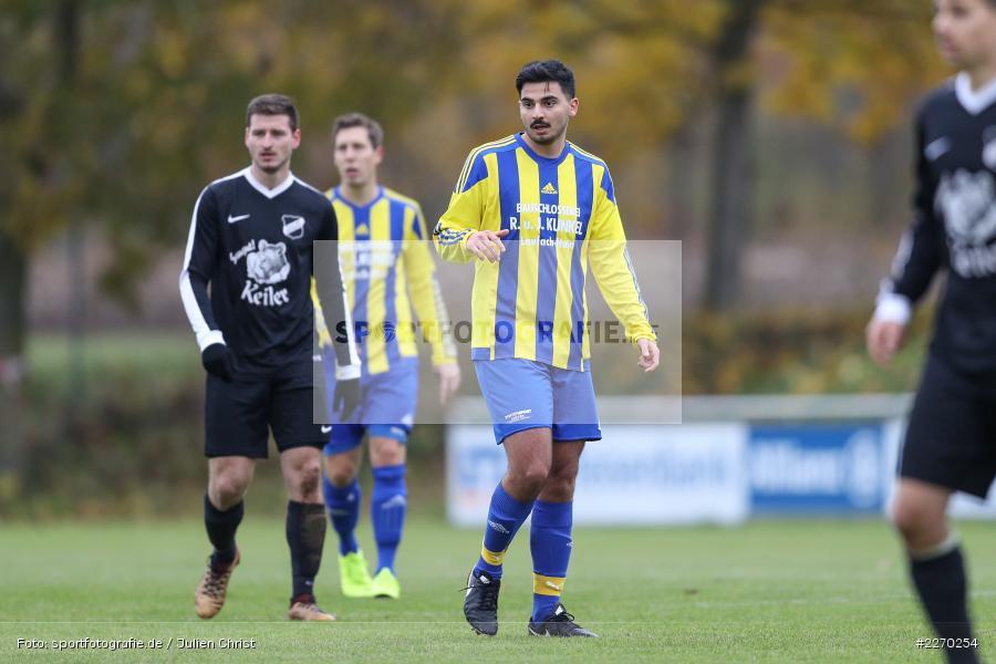 Celal Kengel, 17.11.2019, Bezirksliga Ufr. West, DJK Hain, TSV Retzbach - Bild-ID: 2270254