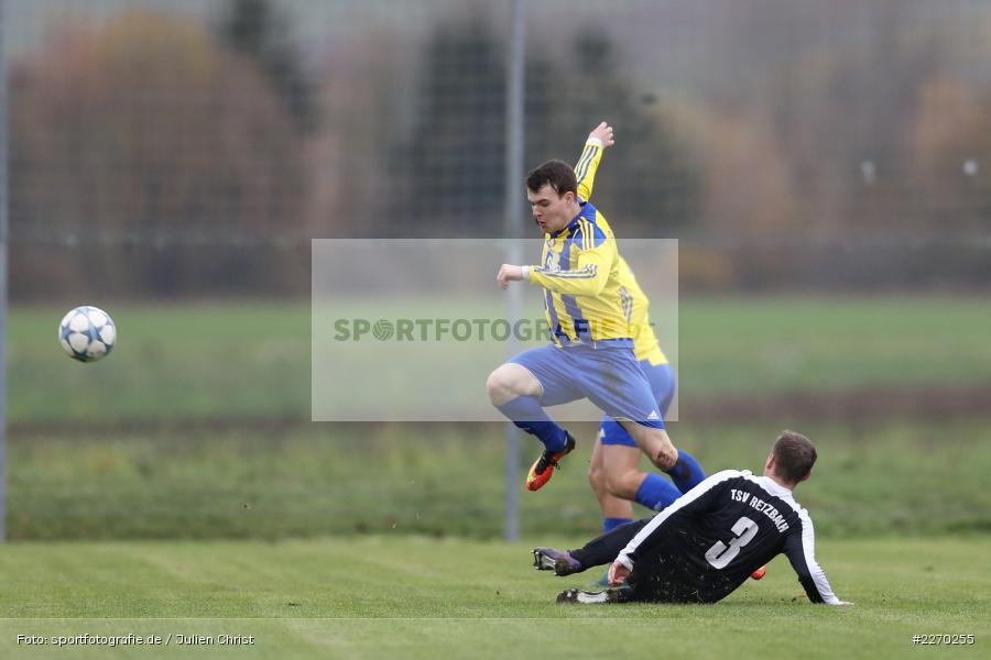Carsten Albrecht, Manuel Rumpel, 17.11.2019, Bezirksliga Ufr. West, DJK Hain, TSV Retzbach - Bild-ID: 2270255