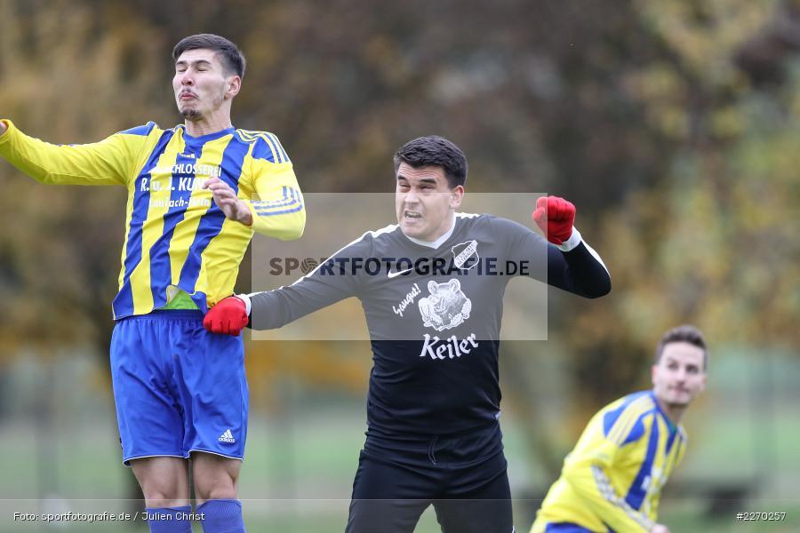 Onur Yazbahar, Nicolai Zull, 17.11.2019, Bezirksliga Ufr. West, DJK Hain, TSV Retzbach - Bild-ID: 2270257