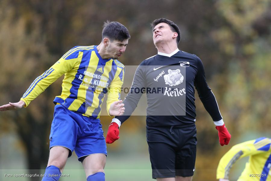Onur Yazbahar, Nicolai Zull, 17.11.2019, Bezirksliga Ufr. West, DJK Hain, TSV Retzbach - Bild-ID: 2270259
