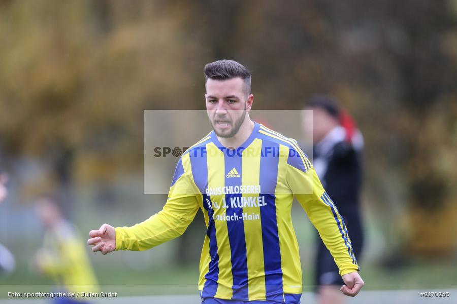 Lukas Müller, 17.11.2019, Bezirksliga Ufr. West, DJK Hain, TSV Retzbach - Bild-ID: 2270263