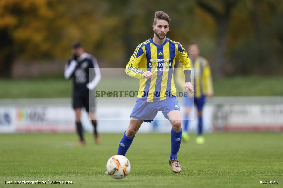 Jonas Wagner, 17.11.2019, Bezirksliga Ufr. West, DJK Hain, TSV Retzbach - Bild-ID: 2270268