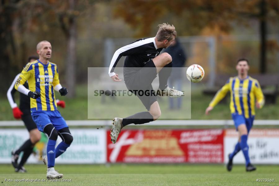 Sebastian Leisgang, 17.11.2019, Bezirksliga Ufr. West, DJK Hain, TSV Retzbach - Bild-ID: 2270269