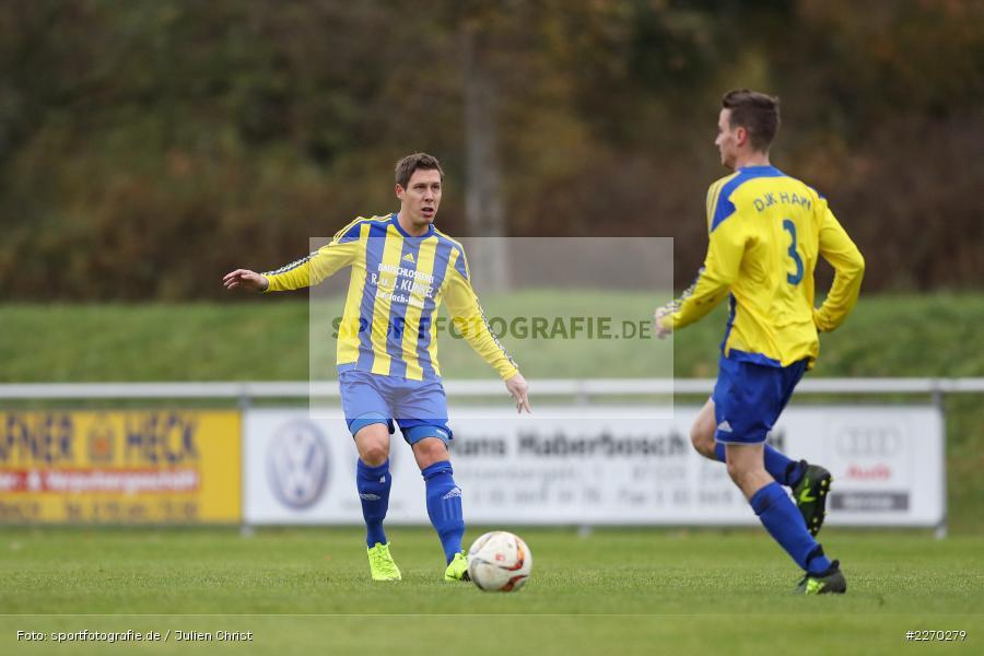 Markus Horr, 17.11.2019, Bezirksliga Ufr. West, DJK Hain, TSV Retzbach - Bild-ID: 2270279