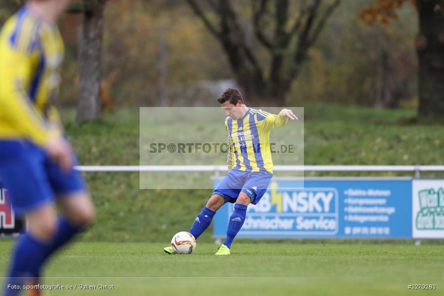 Markus Horr, 17.11.2019, Bezirksliga Ufr. West, DJK Hain, TSV Retzbach - Bild-ID: 2270282