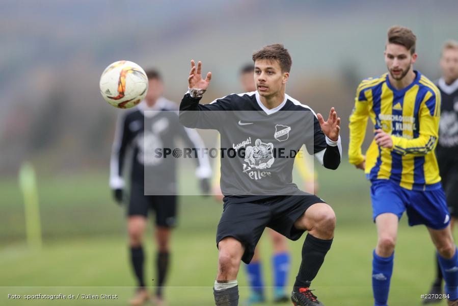 Jonas Wagner, Dominik Hehrlein, 17.11.2019, Bezirksliga Ufr. West, DJK Hain, TSV Retzbach - Bild-ID: 2270284