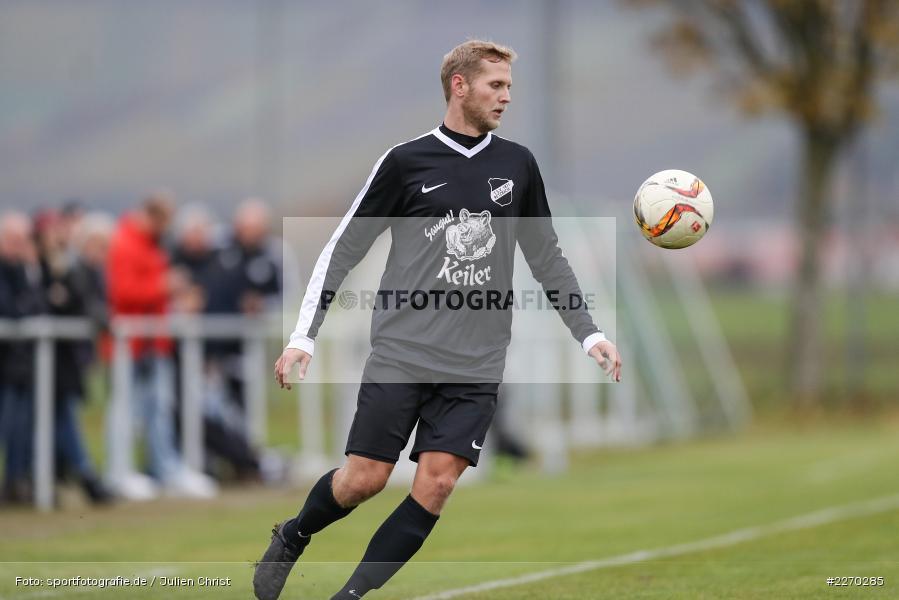 Felix Strohmenger, 17.11.2019, Bezirksliga Ufr. West, DJK Hain, TSV Retzbach - Bild-ID: 2270285