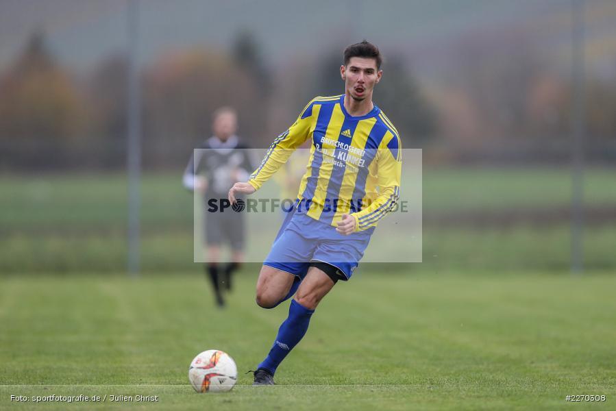 Onur Yazbahar, 17.11.2019, Bezirksliga Ufr. West, DJK Hain, TSV Retzbach - Bild-ID: 2270308