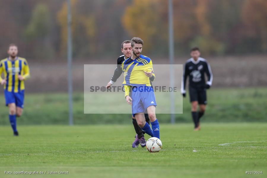 Jonas Wagner, Manuel Rumpel, 17.11.2019, Bezirksliga Ufr. West, DJK Hain, TSV Retzbach - Bild-ID: 2270324