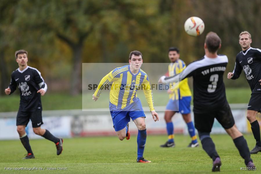 Carsten Albrecht, 17.11.2019, Bezirksliga Ufr. West, DJK Hain, TSV Retzbach - Bild-ID: 2270327