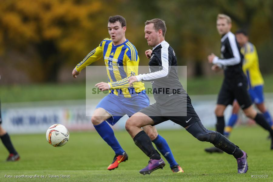 Manuel Rumpel, Carsten Albrecht, 17.11.2019, Bezirksliga Ufr. West, DJK Hain, TSV Retzbach - Bild-ID: 2270329