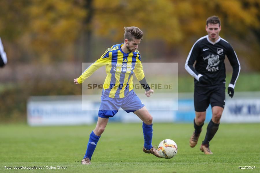 Jonas Wagner, 17.11.2019, Bezirksliga Ufr. West, DJK Hain, TSV Retzbach - Bild-ID: 2270369