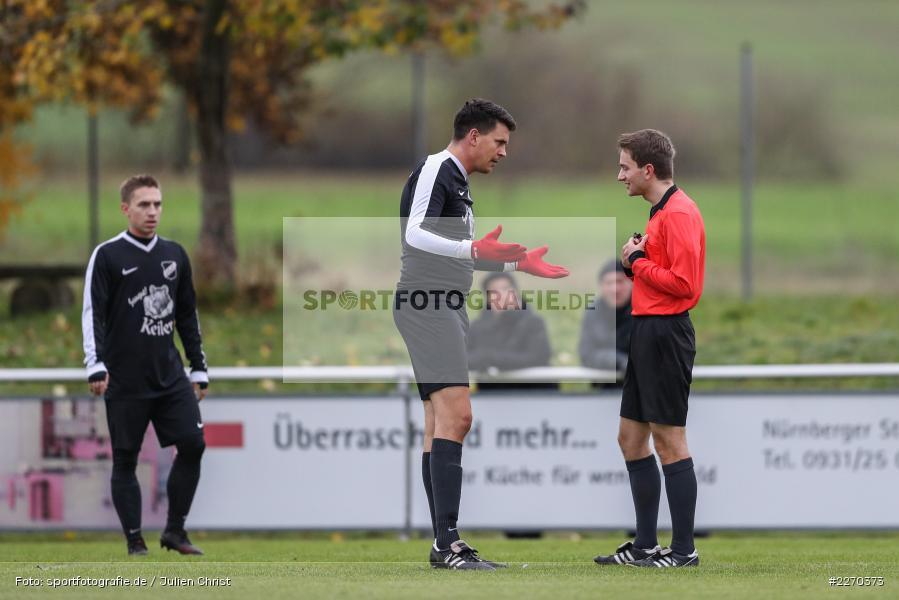 David Kern, Nicolai Zull, 17.11.2019, Bezirksliga Ufr. West, DJK Hain, TSV Retzbach - Bild-ID: 2270373