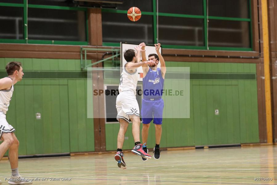 Tilman Christof, Ricardo Münch, 23.11.2019, Basketball Bezirksoberliga, SV Oberdürrbach, TSV Karlstadt - Bild-ID: 2270650