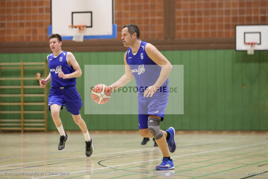 Andre Maier, 23.11.2019, Basketball Bezirksoberliga, SV Oberdürrbach, TSV Karlstadt - Bild-ID: 2270651