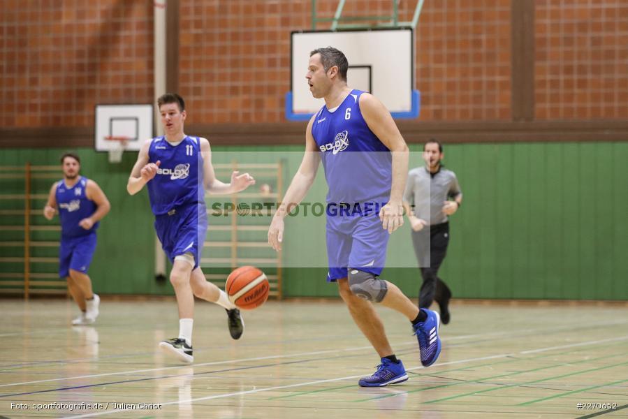 Andre Maier, 23.11.2019, Basketball Bezirksoberliga, SV Oberdürrbach, TSV Karlstadt - Bild-ID: 2270652