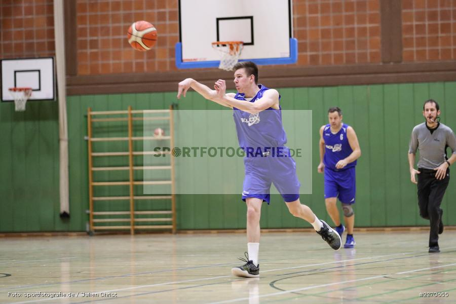 Michael Sauer, 23.11.2019, Basketball Bezirksoberliga, SV Oberdürrbach, TSV Karlstadt - Bild-ID: 2270655