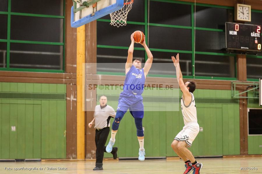 Matti Weißhaar, 23.11.2019, Basketball Bezirksoberliga, SV Oberdürrbach, TSV Karlstadt - Bild-ID: 2270656