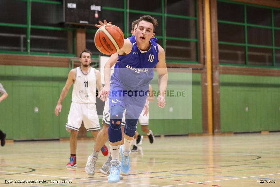 Matti Weißhaar, 23.11.2019, Basketball Bezirksoberliga, SV Oberdürrbach, TSV Karlstadt - Bild-ID: 2270658