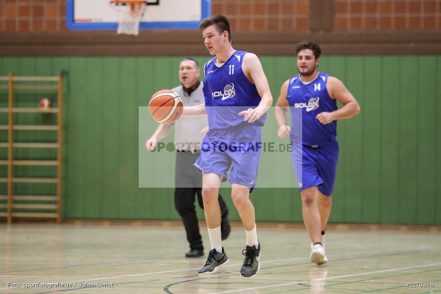 Michael Sauer, 23.11.2019, Basketball Bezirksoberliga, SV Oberdürrbach, TSV Karlstadt - Bild-ID: 2270678