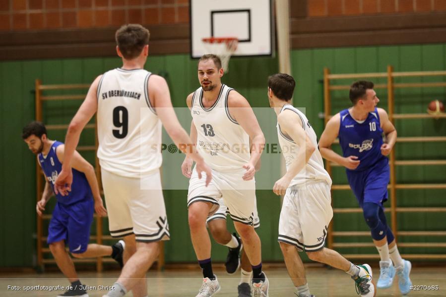 Sebastian Hilpert, 23.11.2019, Basketball Bezirksoberliga, SV Oberdürrbach, TSV Karlstadt - Bild-ID: 2270683