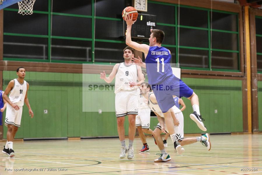 Michael Sauer, 23.11.2019, Basketball Bezirksoberliga, SV Oberdürrbach, TSV Karlstadt - Bild-ID: 2270684