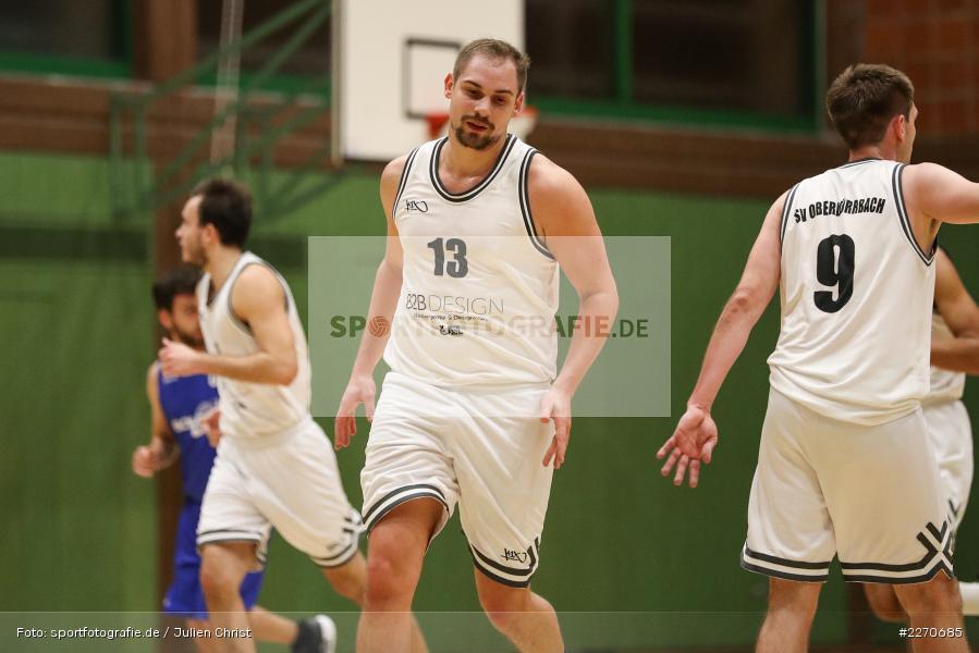 Sebastian Hilpert, 23.11.2019, Basketball Bezirksoberliga, SV Oberdürrbach, TSV Karlstadt - Bild-ID: 2270685