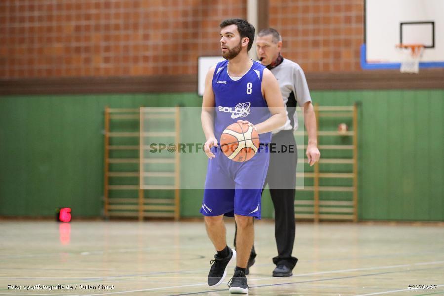 Ricardo Münch, 23.11.2019, Basketball Bezirksoberliga, SV Oberdürrbach, TSV Karlstadt - Bild-ID: 2270687