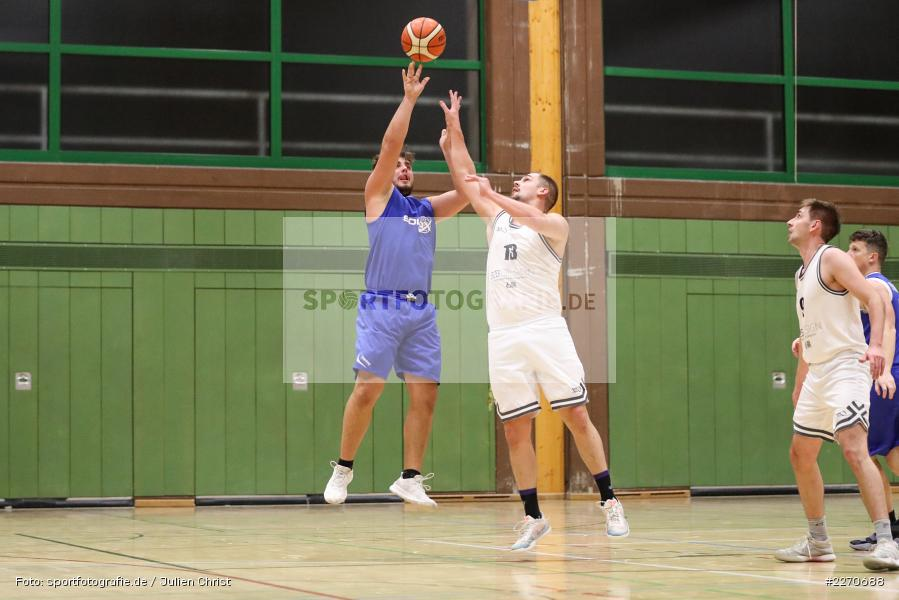 Sebastian Hilpert, Marco Passlack, 23.11.2019, Basketball Bezirksoberliga, SV Oberdürrbach, TSV Karlstadt - Bild-ID: 2270688