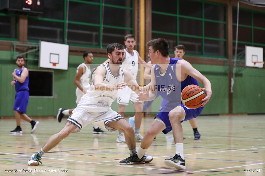 Maurizio Menini, Michael Sauer, 23.11.2019, Basketball Bezirksoberliga, SV Oberdürrbach, TSV Karlstadt - Bild-ID: 2270694