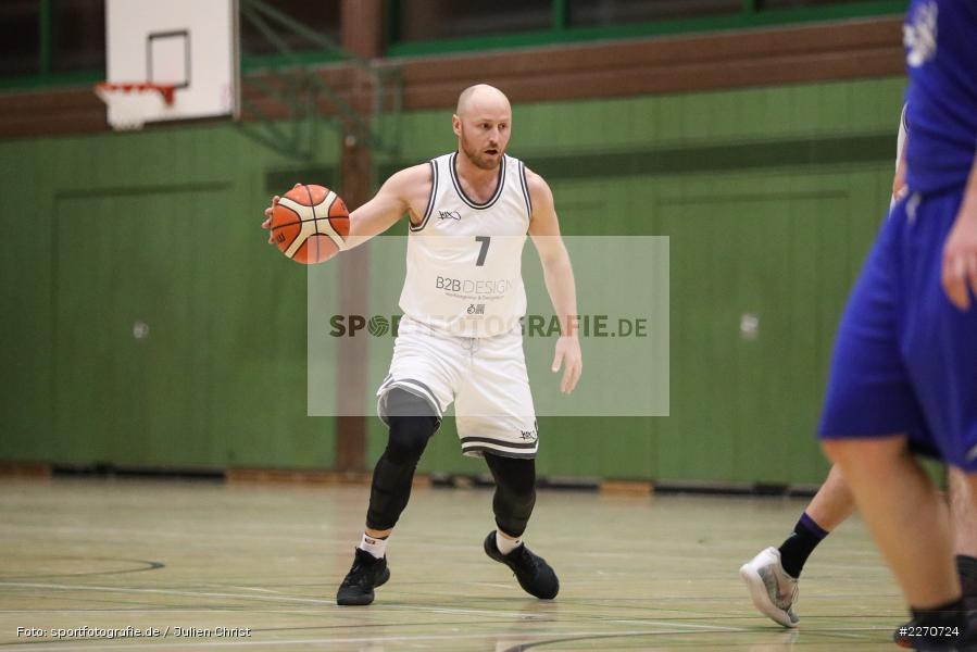 Dominic Hiller, 23.11.2019, Basketball Bezirksoberliga, SV Oberdürrbach, TSV Karlstadt - Bild-ID: 2270724