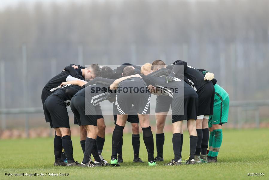 Mannschaftskreis, 24.11.2019, A-Klasse Würzburg Gr. 6, TSV Karlburg III, TSV Retzbach II - Bild-ID: 2270759