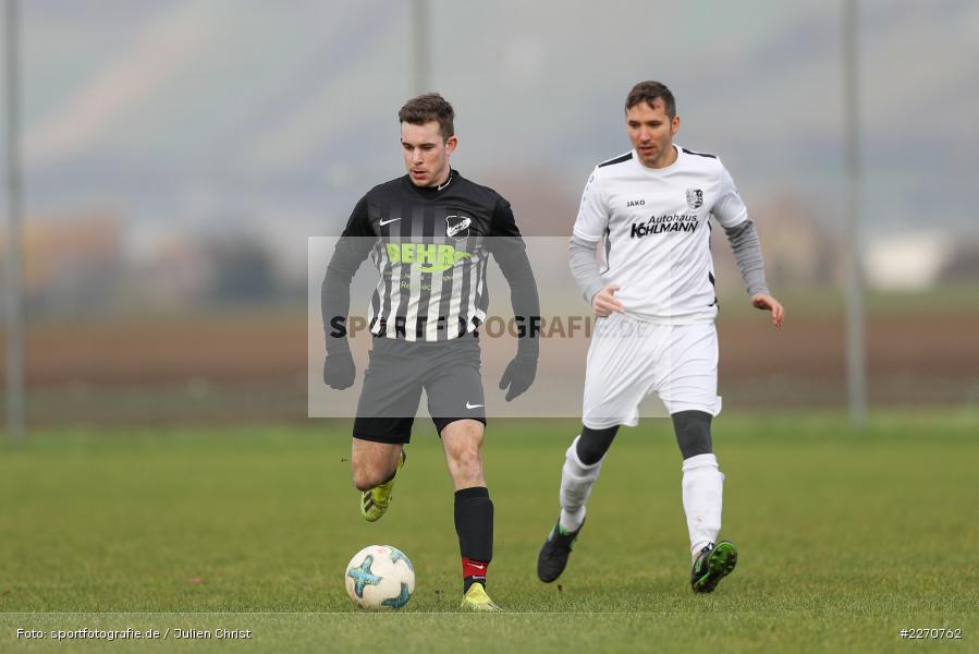 Gabriel Nunn, Adrian Freier, 24.11.2019, A-Klasse Würzburg Gr. 6, TSV Karlburg III, TSV Retzbach II - Bild-ID: 2270762