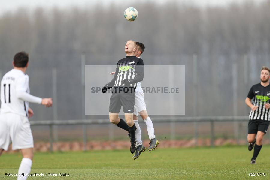 Leonard Ehrenfels, Stefan Zull, 24.11.2019, A-Klasse Würzburg Gr. 6, TSV Karlburg III, TSV Retzbach II - Bild-ID: 2270778