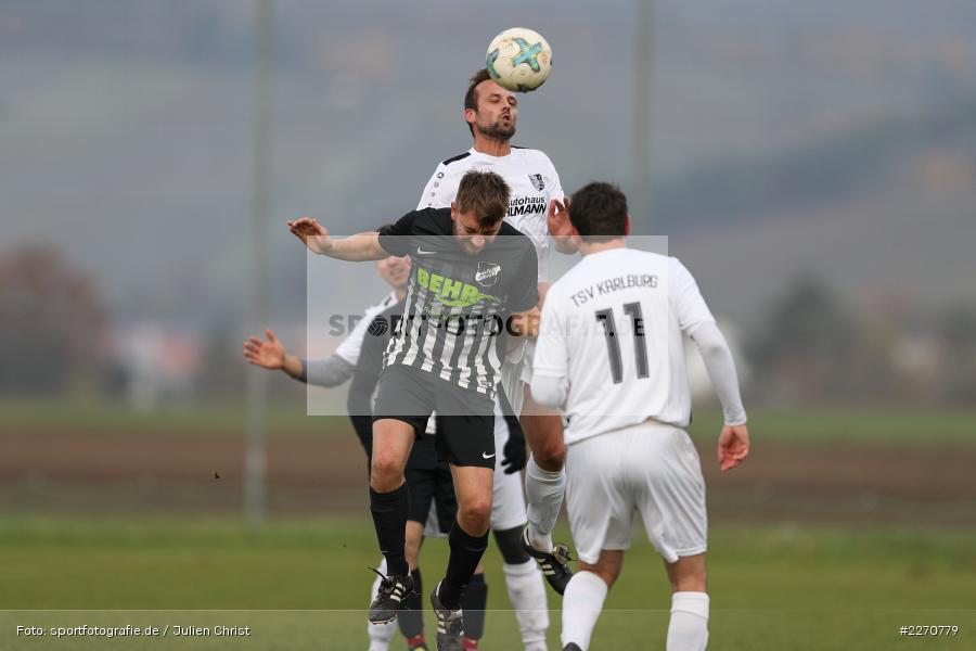 Markus Steigerwald, Marcel Schrauth, 24.11.2019, A-Klasse Würzburg Gr. 6, TSV Karlburg III, TSV Retzbach II - Bild-ID: 2270779