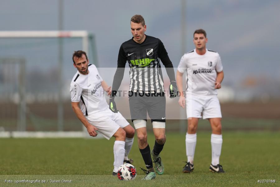 Kevin Mehler, 24.11.2019, A-Klasse Würzburg Gr. 6, TSV Karlburg III, TSV Retzbach II - Bild-ID: 2270788