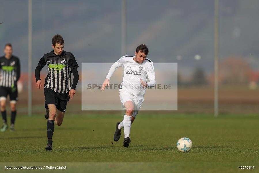 Simon Barthelmes, Stefan Schmitt, 24.11.2019, A-Klasse Würzburg Gr. 6, TSV Karlburg III, TSV Retzbach II - Bild-ID: 2270819
