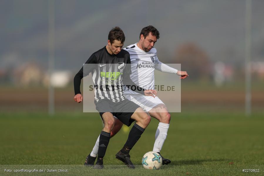 Simon Barthelmes, Stefan Schmitt, 24.11.2019, A-Klasse Würzburg Gr. 6, TSV Karlburg III, TSV Retzbach II - Bild-ID: 2270822