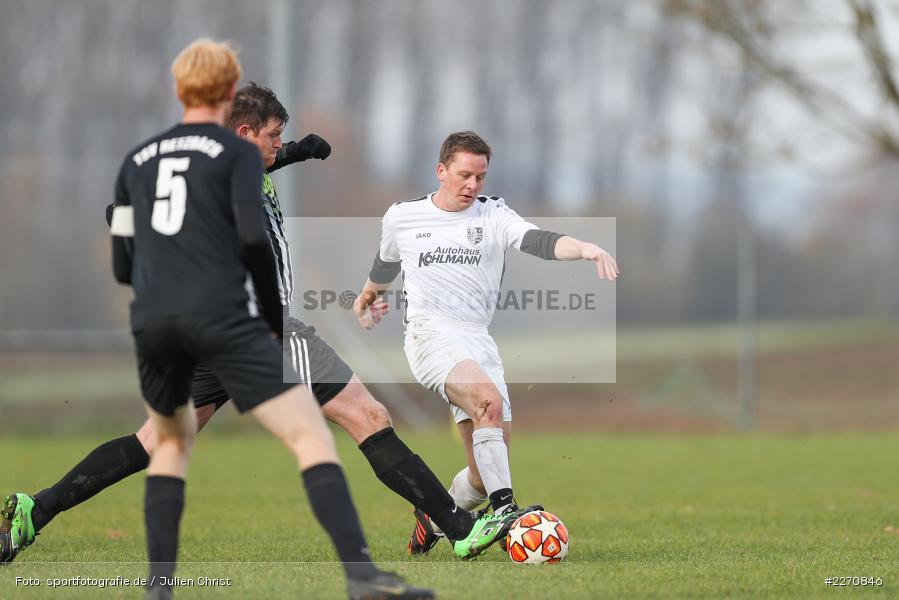 Michael Schmitt, Frank Eisenbacher, 24.11.2019, A-Klasse Würzburg Gr. 6, TSV Karlburg III, TSV Retzbach II - Bild-ID: 2270846