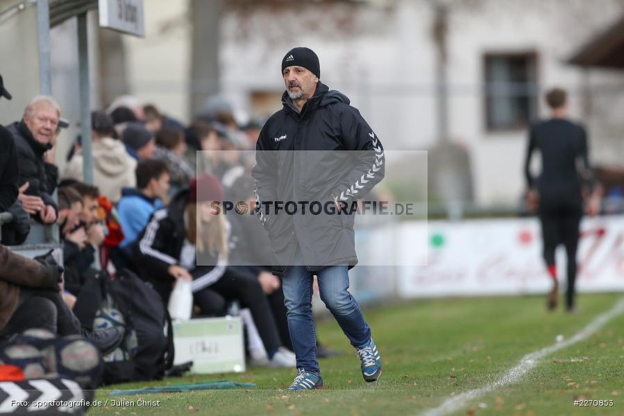 Fulvio Bifano, Bayernliga Nord 30.11.2019, SpVgg Bayern Hof, TSV Karlburg - Bild-ID: 2270853