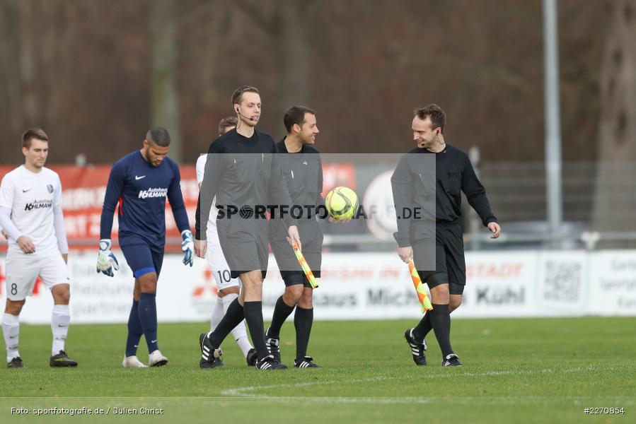 Andreas Göller, Alexander Distler, Christopher Schwarzmann, Bayernliga Nord 30.11.2019, SpVgg Bayern Hof, TSV Karlburg - Bild-ID: 2270854