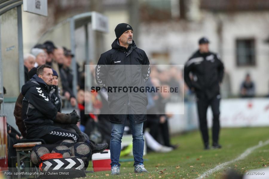 Fulvio Bifano, Bayernliga Nord 30.11.2019, SpVgg Bayern Hof, TSV Karlburg - Bild-ID: 2270860