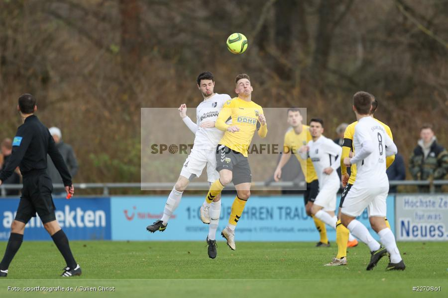 Patrik Kavalir, Cedric Fenske, Bayernliga Nord 30.11.2019, SpVgg Bayern Hof, TSV Karlburg - Bild-ID: 2270861