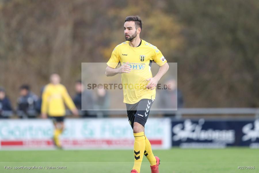 Ondrej Chocholousek, Bayernliga Nord 30.11.2019, SpVgg Bayern Hof, TSV Karlburg - Bild-ID: 2270863