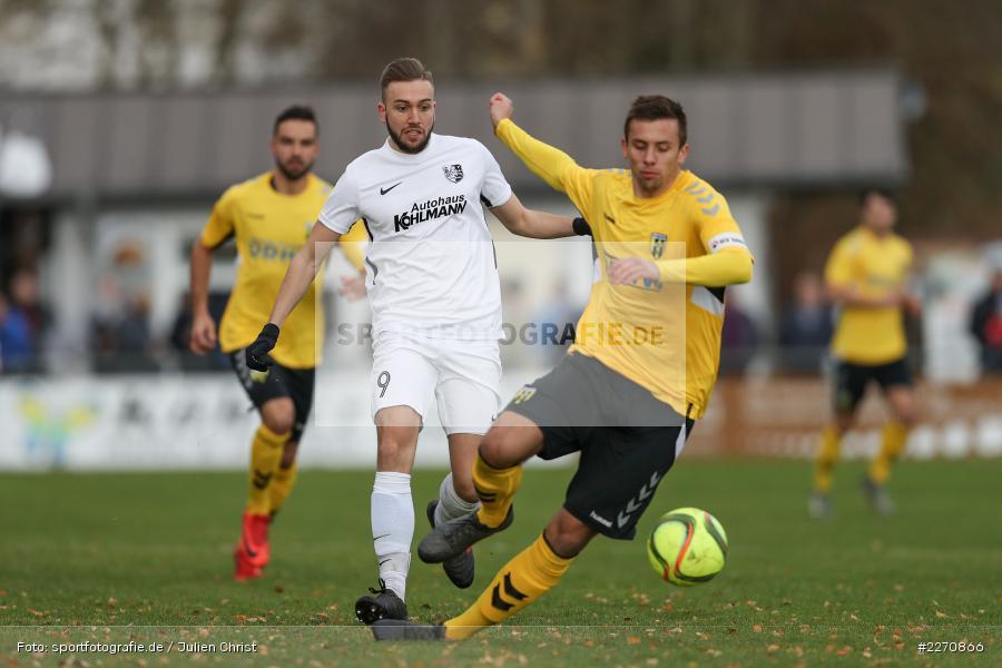 Ferdinand Seifert, Sebastian Stumpf, Bayernliga Nord 30.11.2019, SpVgg Bayern Hof, TSV Karlburg - Bild-ID: 2270866